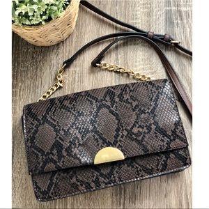 A New Day Snakeskin Crossbody Bag